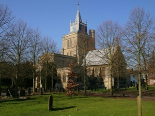 Aylesbury parish church