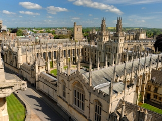 Regional attractions - Oxford University